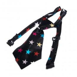 Regulowany krawat dla psa kota na boże narodzenie GWIAZDKI