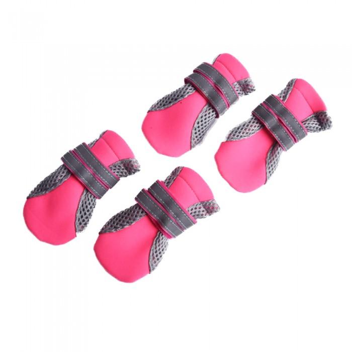 różowe buty dla psa na zime rozm. L