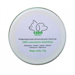 Pielęgnacyjny wosk ochronny do psich łap / naturalne buty dla psa