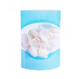 Białe muszle dekoracyjne zestaw / muszelki ozdobne do akwarium