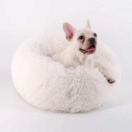 Miękkie ciepłe legowisko dla psa kota 50 cm / posłanie dla psa rozm. S