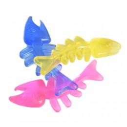 Zabawka gryzak dla psa / gumowa ryba dla szczeniaka na rosnące zęby
