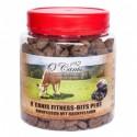 Przysmaki dla psa O Canis Fitness-Bits Plus wołowina ze śliwką 300g