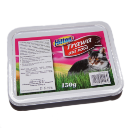 HILTON trawa dla kota w pudełku nasiona do samodzielnego wysiewu