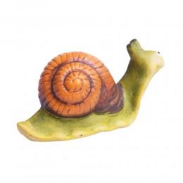Figurka ślimaka do ogrodu lub domu / figurka ślimak z domkiem