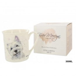 Kubek z westem / ceramiczny kubek pies West Highland White Terrier