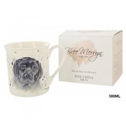 Kubek z labradorem / kubek ceramiczny na prezent labrador czarny
