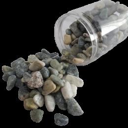 Zielonkawe kamienie dekoracyjne naturalne / grys kamyczki ozdobne