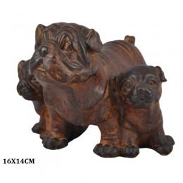 Figurka Buldog angielski na prezent / figurka psa buldog angielski