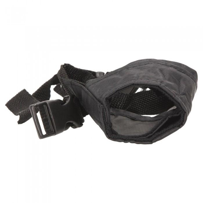 Czarny kaganiec nylonowy dla psa