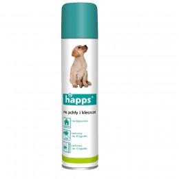 HAPPS spray środek preparat na pchły i kleszcze 250 ml