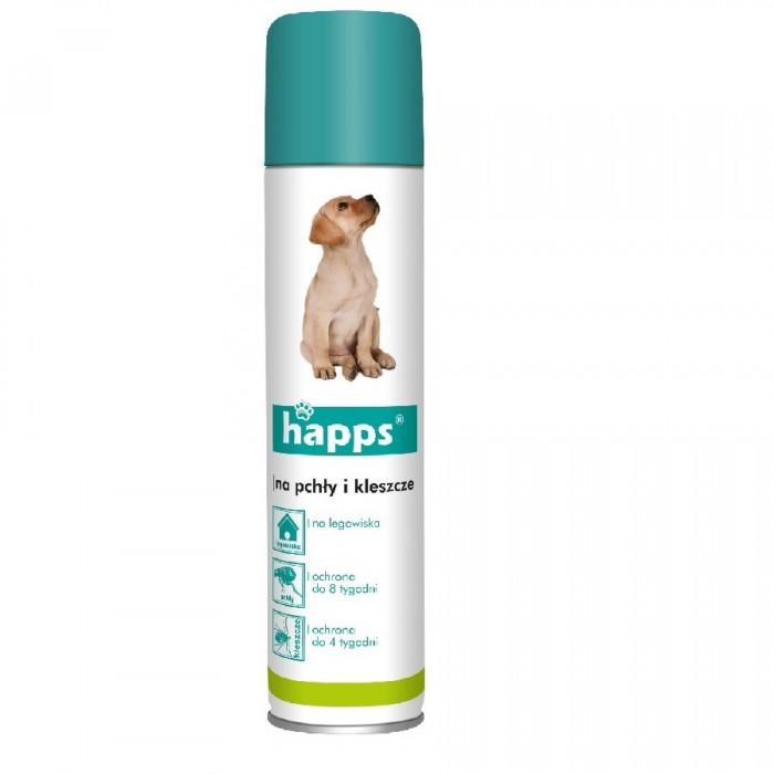 Spray na pchły i kleszcze HAPPS 250 ml | Sklep internetowy VIKTORIA