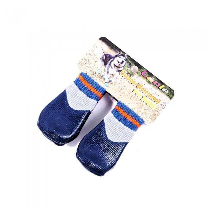 Chwalebne Granatowe wodoodporne skarpetki buty dla psa kota w niskiej cenie QO23