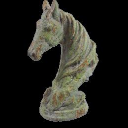 Głowa konia rzeźba figurka dekoracyjna dla miłośnika jeździectwa