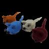 Mysz myszka z filcu handmade zabawka dla kota dekoracja upominek