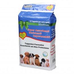 Podkłady higieniczne dla psa szczeniąt 60x90cm 12 szt.
