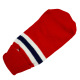 Golf sweterek ubranko dla psa na zimę czerwone w paseczki