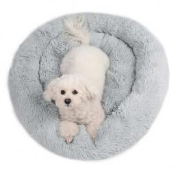 Miękkie ciepłe legowisko dla psa kota 50 cm posłanie dla psa rozm. M