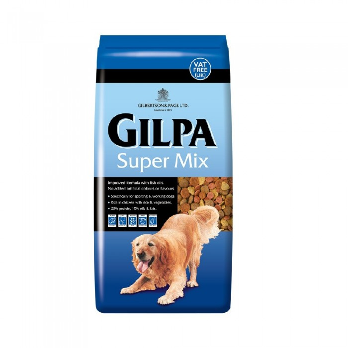 sucha karma dla psa gilpa super mix dog food 4 kg