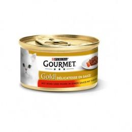 Gourmet Gold wołowina kurczak w pomidor. 85g