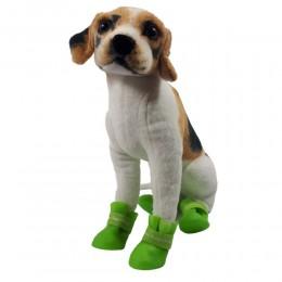 Kalosze dla psa rozm. L / gumowe buty ochronne dla psów