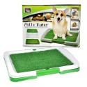Kuweta dla psa psów szczeniąt z trawą do nauki sikania