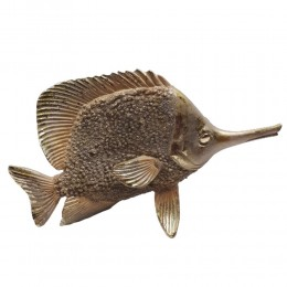 Rzeźba figurka ryba złota /ryba figurka dekoracyjna glamour prezent