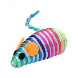 Zabawki dla kota z kolorowego sznurka | Mysz dla kota