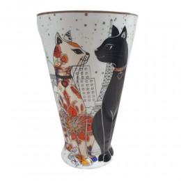 Duży ceramiczny kubek z kotami 500ml / kubek w koty na prezent