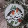 Bożonarodzeniowe bombki ażurowe decoupage zielone sprzedam