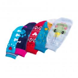 Ciepły sweterek ubranko golf dla psa rozm. XM (mix. wzorów)
