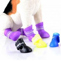 KALOSZE dla psa / buty ochronne gumowe dla psa na deszcz roz. M