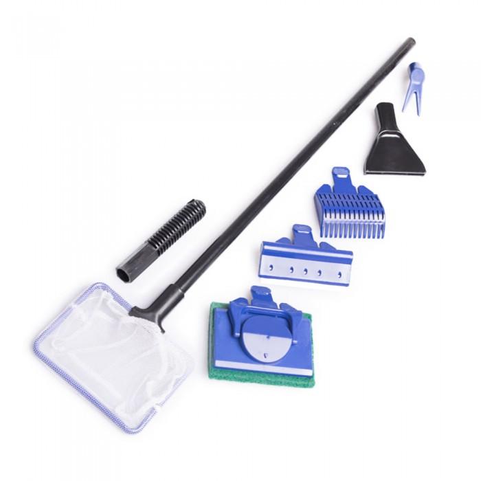 Zestaw akcesoriów do czyszczenia akwarium 5w1