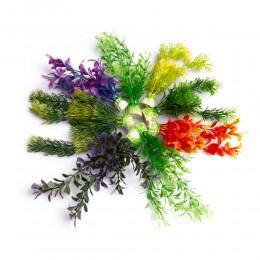 Komplet 2 sztucznych roślin do akwarium