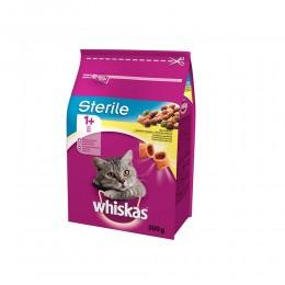 Karma dla kotów po sterylizacji WHISKAS Sterile z kurczakiem 300g