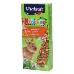 Vitakraft krakersy dla królików miniaturek MIÓD+ORKISZ