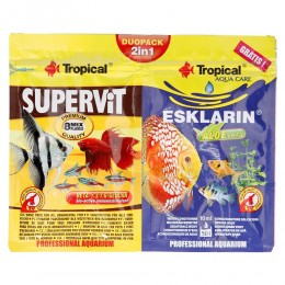 TROPICAL DUOPACK 2W1 SUPERVIT 12g + ESKLARIN 10ml