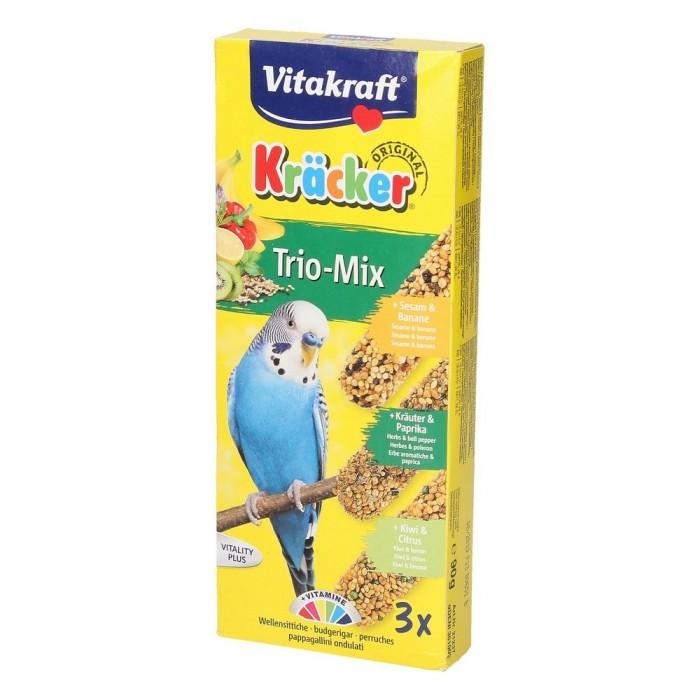 Vitakraft Kracker Trio Mix Kolby Dla Papużek Falistych