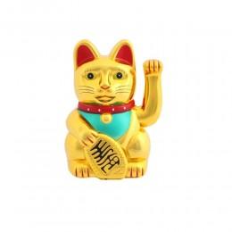 MANEKI NEKO duży japoński kot szczęścia bogactwa 25 cm