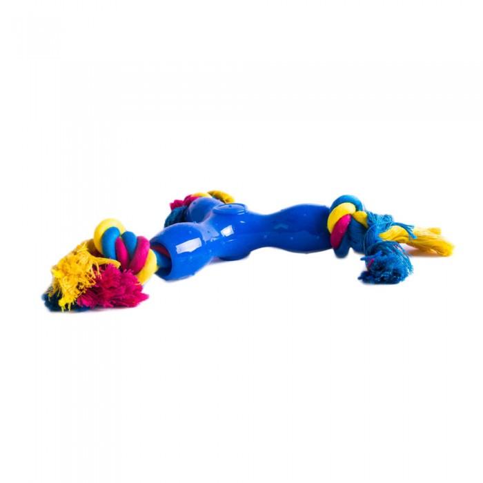 Zabawka dla psa do rzucania WIATRAK ze sznurkami