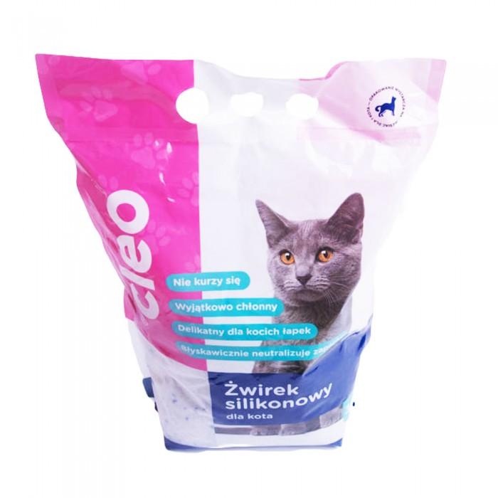 CLEO żwirek silikonowy dla kota 3,8l