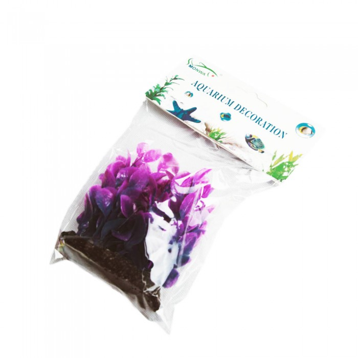 Mała sztuczna roślina do akwarium