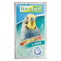 NESTOR witaminy z jodem dla małych papug