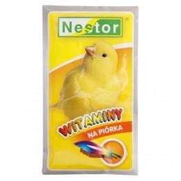 NESTOR witaminy na piórka dla kanarków 20g