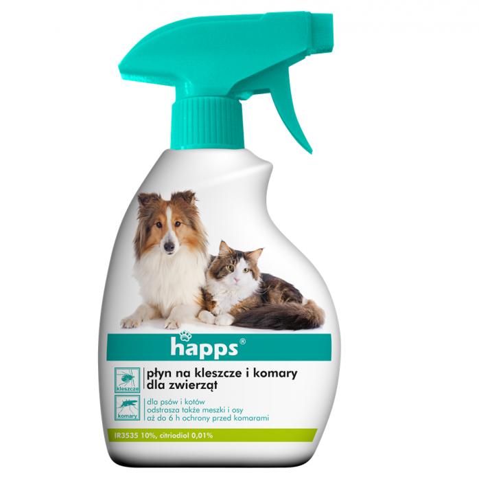 Preparat na kleszcze HAPPS skuteczny detergent