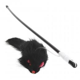 Wędka dla kota z myszką
