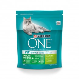 Purina One Indoor Formula z indykiem 800g