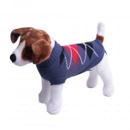 Granatowe ubranko sweterek dla psa