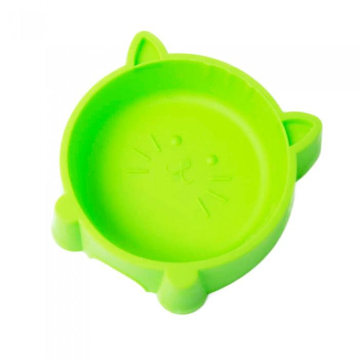 Plastikowa miska dla kota na jedzenie wodę GŁOWA KOTA