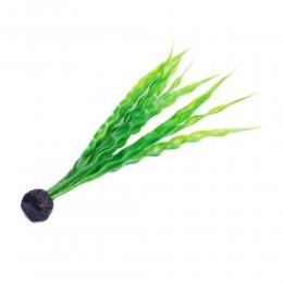 Długa sztuczna roślina do akwarium NURZANIEC ŚRUBOWY 28cm